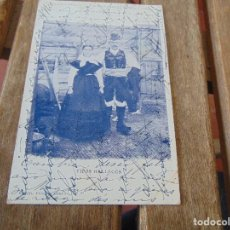 Cartoline: TARJETA POSTAL REVERSO SIN DIVIDIR TIPOS GALLEGOS. Lote 146251822