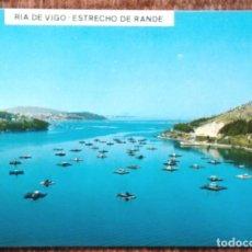 Postales: RIA DE VIGO - ESTRECHO DE RANDE. Lote 146361422