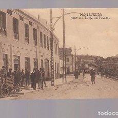 Postales: ESTRIVELA (PONTEVEDRA).- LONJA DE PESCADO. Lote 146609294