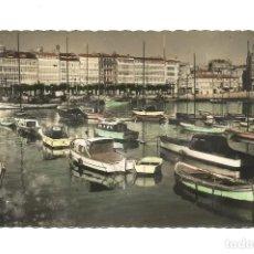 Postales: LA CORUÑA - DARSENA - EDICIONES LUJO - POSTAL . Lote 146839730