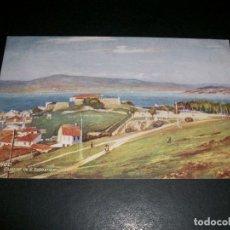 Postales: VIGO PONTEVEDRA CUARTEL DE SAN SEBASTIAN EDICION INGLESA. Lote 146960730