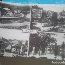 Postales: LUGO - 4 VISTAS - POSTAL FOTOGRÁFICA, SIN EDITOR. Lote 147519974