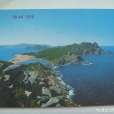 Postales: POSTAL DE VIGO : ISLAS CIES , RIA DE VIGO. Lote 147590670
