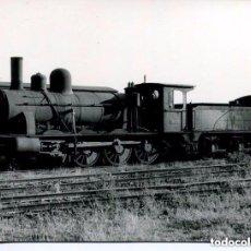 Postales: FERROCARRIL-ESTACIÓN SANTIAGO DE COMPOSTELA 1964- FOTOGRÁFICA. Lote 147681990