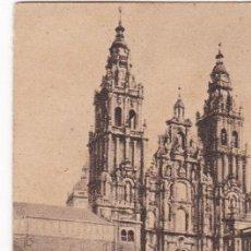 Postales: POSTAL ORIGINAL. DÉCADA 30. CORUÑA. SANTIAGO DE COMPOSTELA. FACHADA DEL OBRADOIRO. Nº 148. Lote 147710730