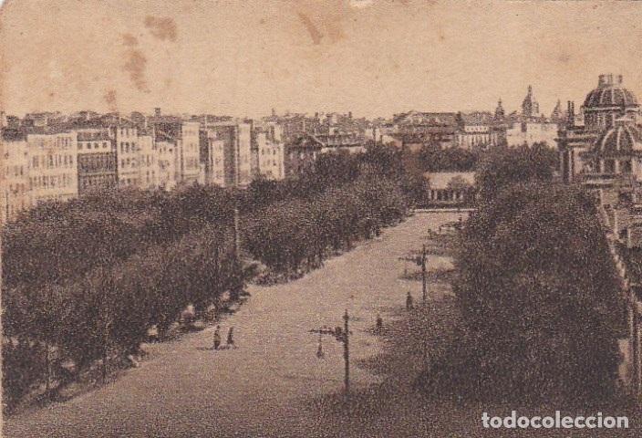POSTAL ORIGINAL. DÉCADA 30. CORUÑA. PASEO DE MENDEZ NUÑEZ. Nº 126 (Postales - España - Galicia Antigua (hasta 1939))