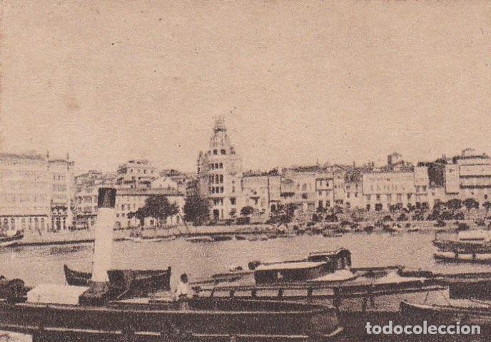 POSTAL ORIGINAL. DÉCADA 30. CORUÑA. LA DÁRSENA. Nº 124 (Postales - España - Galicia Antigua (hasta 1939))