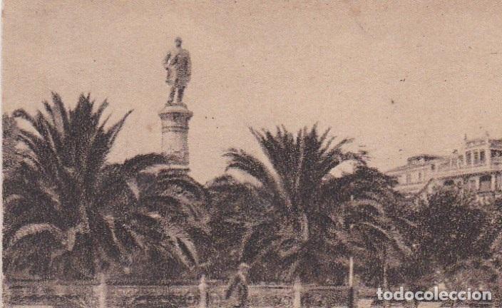 POSTAL ORIGINAL. DÉCADA 30. CORUÑA. MONUMENTO A CARBALLO. Nº 140 (Postales - España - Galicia Antigua (hasta 1939))