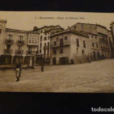 Postales: MONDOÑEDO LUGO PLAZA DE ALFONSO XIII. Lote 147918654
