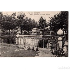 Postales: CORUÑA.- SEPULCRO DE SIR JOHN MOORE. Lote 147925066