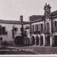 Postales: PONTEVEDRA - PLAZA DE MAGARTERI. Lote 147935506
