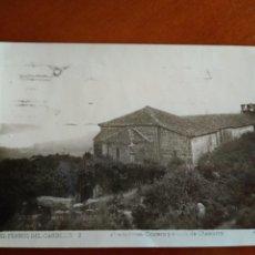 Postales: TARJETA POSTAL EL FERROL DEL CAUDILLO ERMITA CHAMORRO - ARRIBAS - CIRCULADA. Lote 148053198