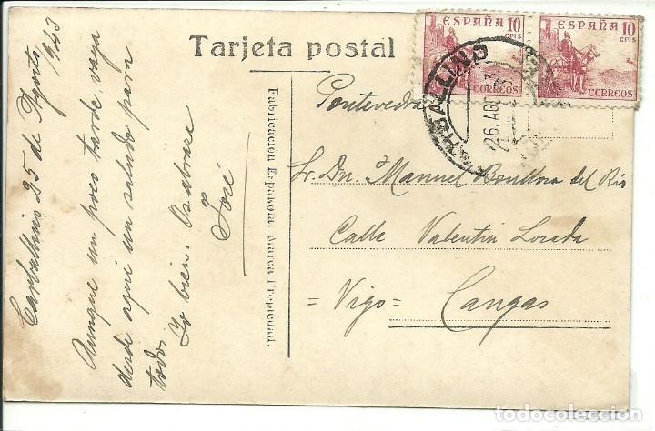 Postales: (PS-59271)POSTAL FOTOGRAFICA DE CARBALLINO-ENTRADA AL PUEBLO POR LA CARRETERA DE ORENSE - Foto 2 - 148555194