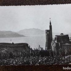 Postales: POSTAL RIA DE VIGO-TEMPLO VOTIVO DEL MAR EN PANXÓN. Lote 148960178