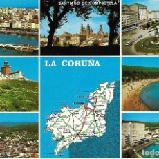 Postales: LA CORUÑA - PROVINCIA DE LA CORUÑA (AÑOS 70). Lote 150093530