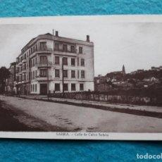 Postales: SARRIA. LUGO. CALLE DE CALVO SOTELO.. Lote 150149086