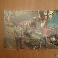 Postales: POSTAL VIGO DESEMBARCADO PESCADO SIN CIRCULAR. Lote 150187950