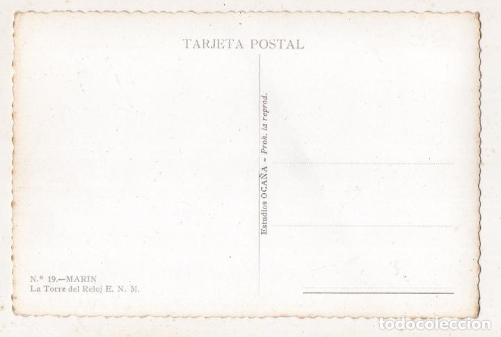 Postales: Marín. Pontevedra. La Torre del Reloj. Escuela Naval Militar - Foto 2 - 150217622