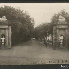 Postales: SANTIAGO-PASEO DE LA HERRADURA-FOTOGRAFICA-POSTAL ANTIGUA-(56.816). Lote 150288598