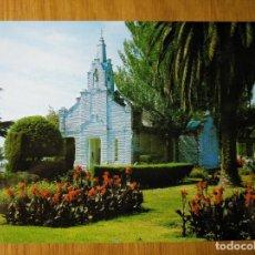 Postales: POSTAL GALICIA LOUJO ISLA LA TOJA PONTEVEDRA POSTALES FAMA CAPILLA DE LAS CONCHAS . Lote 150851038
