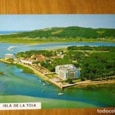 Postales: POSTAL GALICIA LOUJO ISLA LA TOJA PONTEVEDRA POSTALES FAMA GRAN HOTEL RESIDENCIA LOUXO. Lote 150851050