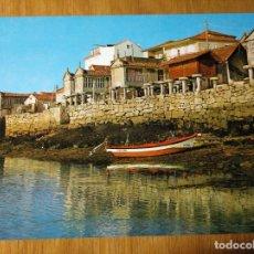 Postales: POSTAL GALICIA CAMBARRO PONTEVEDRA HÓRREOS JUNTO AL MAR. Lote 150851118