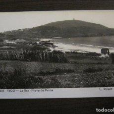 Postais: VIGO-LA RIA-PLAYA DE PATOS-233-ROISIN FOTO-POSTAL ANTIGUA-(56.982). Lote 151013190