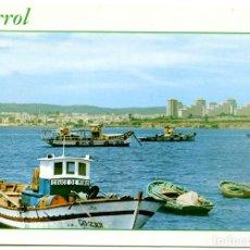 Postales: N.924 FERROL. VISTA PARCIAL Y POLÍGONO DE CARANZA. EDICIONES PARIS. SIN CIRCULAR. Lote 151417934