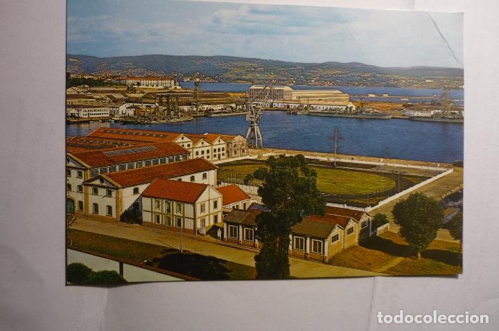 POSTAL FERROL DEL CAUDILLO.-ARSENAL PARCIAL.-ESCRITA (Postales - España - Galicia Moderna (desde 1940))