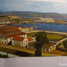 Cartes Postales: POSTAL FERROL DEL CAUDILLO.-ARSENAL PARCIAL.-ESCRITA. Lote 151460166