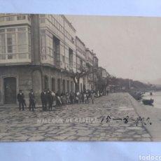 Postales: POSTAL MALECÓN DE CEDEIRA. LA CORUÑA. GALICIA.. Lote 151499508