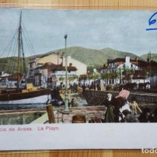 Postales: VILLAGARCIA DE AROSA LA PLAYA FOTO MARTINEZ UNION POSTAL UNIVERSAL 1915 ENVIADA A BANTRY IRLANDA. Lote 151668822