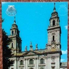 Postales: LUGO - CATEDRAL. Lote 151699042