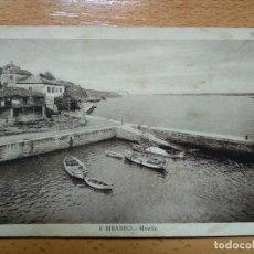 Postales: RIBADEO. MUELLE. L. ROISIN 9.. Lote 152177250