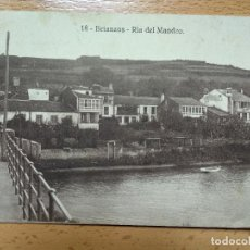 Postales: BETANZOS, RIA MANDEO, 18. CENSURA MILITAR LA CORUÑA.. Lote 152181142