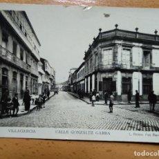 Postales: VILLAGARCIA DE AROSA, PONTEVEDRA - CALLE GONZALEZ GARRA. 9. L.ROISIN. Lote 152181514