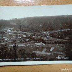 Postales: FERROL ALRREDEDORES-VALLE DE DONIÑOS. ED. C. GALLEGO. Lote 152182422