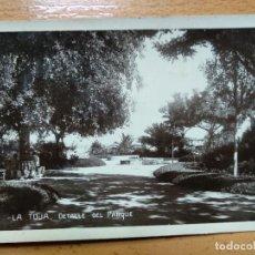 Postales: LA TOJA PONTEVEDRA DETALLE DEL PARQUE. Lote 152199706