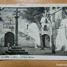 Postales: LA CORUÑA. CONVENTO DE SANTA BÁRBARA.. Lote 152200854