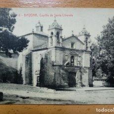 Postales: BAYONA PONTEVEDRA CAPILLA DE SANTA LIBERATA. Lote 152201126