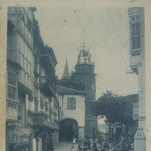 Betanzos. Plaza del Generalísimo Franco