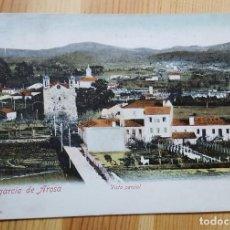 Postales: VILLAGARCIA DE AROSA VISTA PARCIAL FOTO MARTINEZ UNION POSTAL UNIVERSAL 1910. Lote 152392314