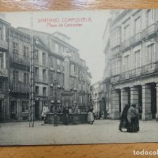 Postales: SANTIAGO DE COMPOSTELA PLAZA DE CERVANTES EDIC FOTOT THOMAS. Lote 152456930