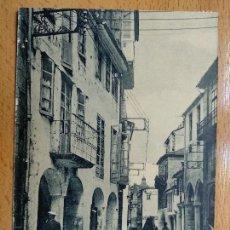 Postales: SANTIAGO. RUA VILLAR. GRAFOS Nº9.. Lote 152457830