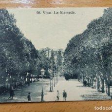 Postales: VIGO - LA ALAMEDA - ED. J. BUCETA 28. Lote 152461290