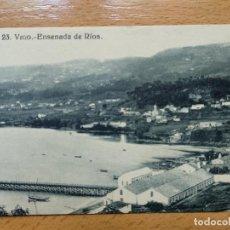 Postales: VIGO - ENSENADA DE RIOS - EDICION J. BUCETA 23. Lote 152461482