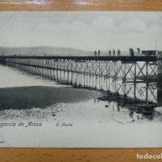 Postales: VILLAGARCIA DE AROSA.EL MUELLE. FOTO MARTINEZ. Lote 152462454