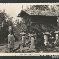 Postales: VIGO-UNA PANERA-GRANERO GALLEGO-20-FOT· ROISIN-POSTAL ANTIGUA-(57.299). Lote 152960646
