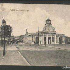 Postales: VIGO-CASA DE PASAJEROS-POSTAL ANTIGUA-(57.300). Lote 153129298