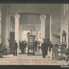 Postales: SANTIAGO DE COMPOSTELA-EXPOSICION REGIONAL GALLEGA-4-THOMAS-POSTAL ANTIGUA-(57.304). Lote 153223218